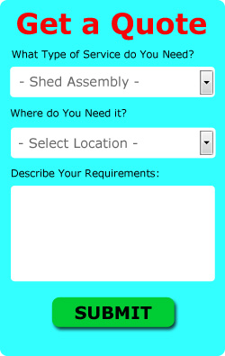 Shed Assembly Quotes Rugeley (WS15)